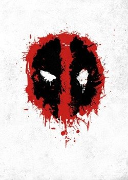 plakat z metalu MARVEL - DEADPOOL - SPRAY TAG