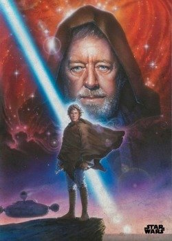 plakat z metalu STAR WARS - NEW HOPE