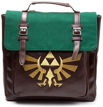 plecak ZELDA - NINTENDO LEGEND OF ZELDA ROYAL CREST EMBLEM BACKPACK BROWN/GREEN