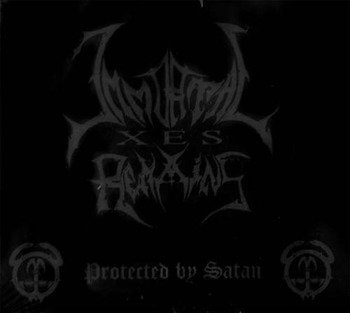 płyta CD: IMMORTAL REMAINS - PROTECTED BY SATAN
