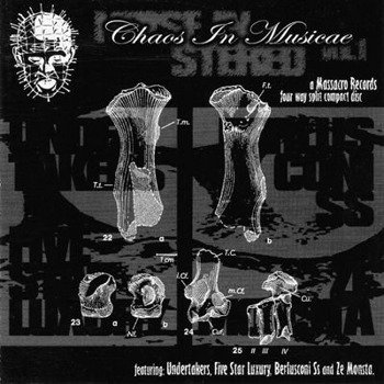 płyta CD: UNDERTAKERS / ZE MONSTA / FIVE STAR LUXURY / BERLUSCONI SS - NOISE IN STEREO VOL. I - CHAOS IN MUSICAE
