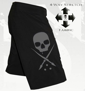 spodenki SULLEN - BRAWLERS FIGHTSHORT black/grey