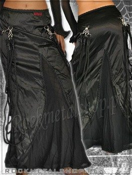 spódnica STRING SKIRT SATIN (A-2-29-070-00)