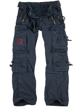 spodnie bojówki ROYAL TRAVELER TROUSER - ROYALBLUE