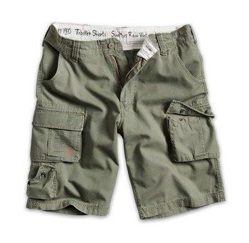 spodnie bojówki krótkie TROOPER SHORTS oliwkowe