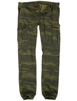 spodnie joggery BAD BOYS PANTS - GREEN CAMO