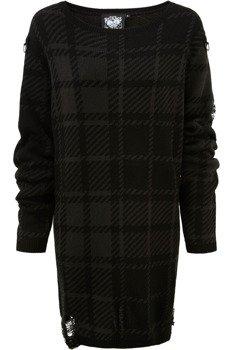 sweter KILLSTAR - DARKLANDS (TARTAN)