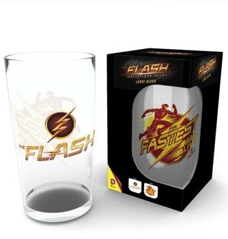 szklanka THE FLASH - LOGO