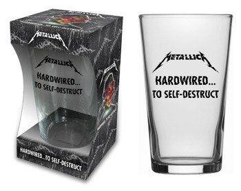 szklanka do piwa METALLICA - HARDWIRED TO SELF DESTRUCT