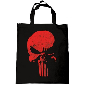 torba na ramię DAREDEVIL - THE PUNISHER SKULL RED
