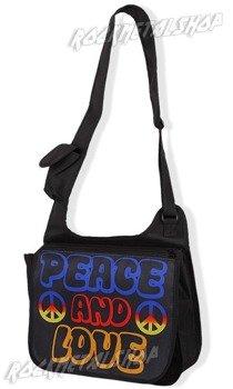 torba na ramię PEACE AND LOVE