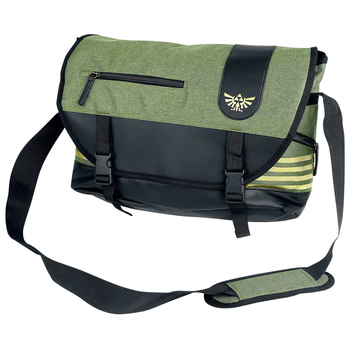torba na ramię ZELDA - MESSENGER BAG WITH GOLDEN TRIFORCE LOGO, SKYWARD SWORD
