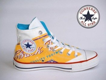 trampki CONVERSE CHUCK TAYLOR - ALL STAR  (WHITE/RUNNER YELLOW)