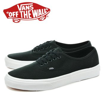 trampki VANS - AUTHENTIC MONO BLACK
