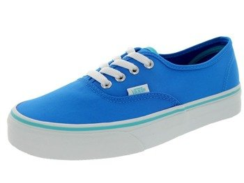 9f1a395c5e6fe9 trampki VANS - AUTHENTIC POP NEON BLUE