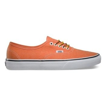 trampki VANS - AUTHENTIC WASHED VIBRANT ORANGE