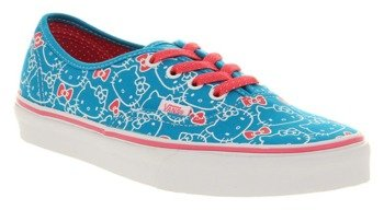 trampki damskie VANS  - AUTHENTIC  HELLO KITTY (HWNCN/HTPNK)