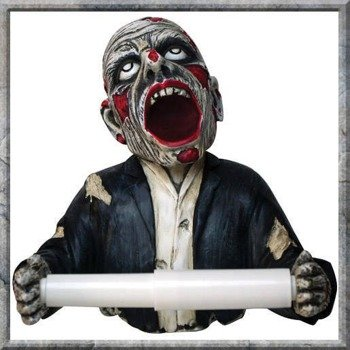 uchwyt na papier  ZOMBIE TOILET ROLL HOLDER