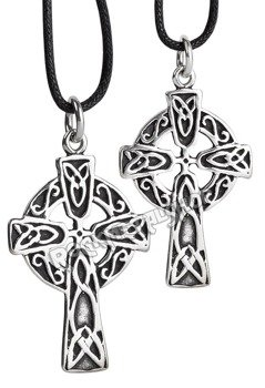 wisior CELTIC CROSS, srebro 925