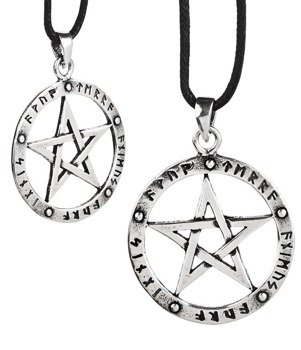 wisior ELEMENTS PENTAGRAM, srebro 925