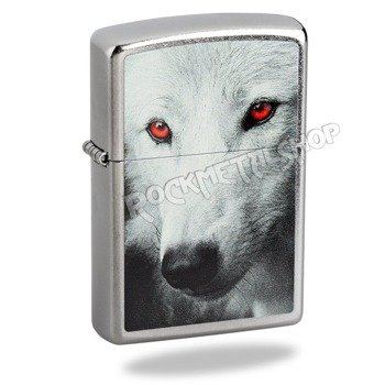 zapalniczka ZIPPO - WOLF WITH RED EYES