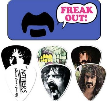 zestaw kostek FRANK ZAPPA - FREAK OUT! blue (ZAPPT02M)