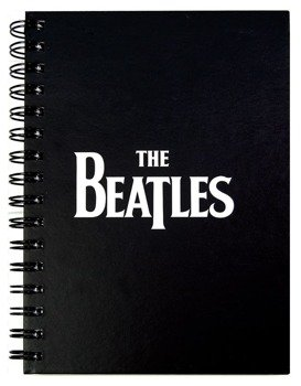 zeszyt THE BEATLES - LOGO A5  gruba linia