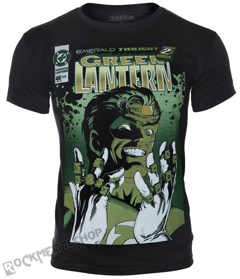 9fc77b840 koszulka GREEN LANTERN - FACE - sklep RockMetalShop.pl