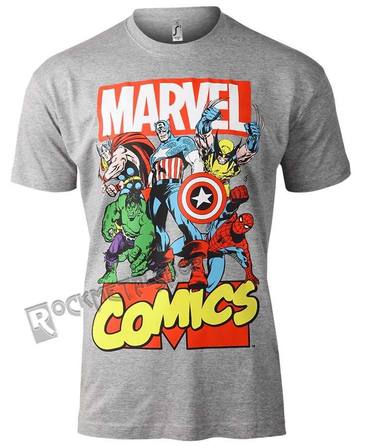 544a2c61f koszulka MARVEL COMICS HEROES; koszulka MARVEL COMICS HEROES ...