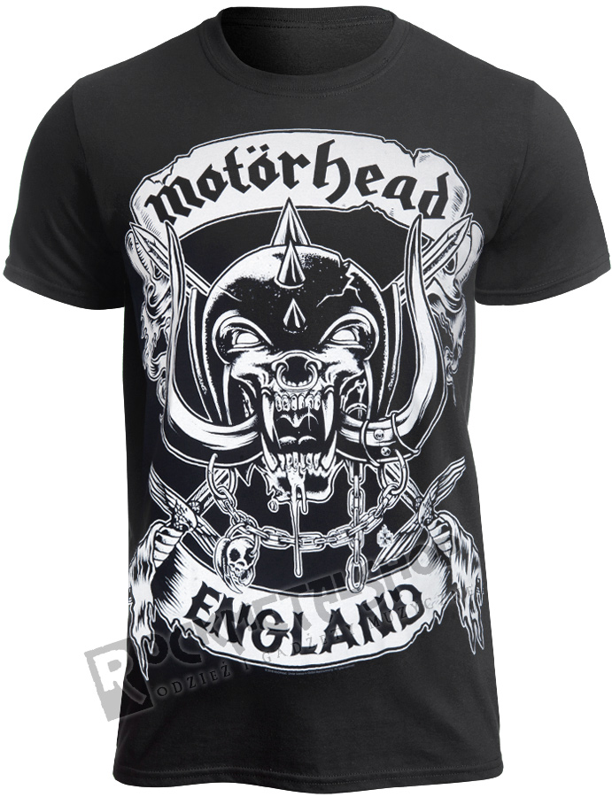 dfccf5024 koszulka MOTORHEAD - CROSSES SWORD ENGLAND - sklep RockMetalShop.pl