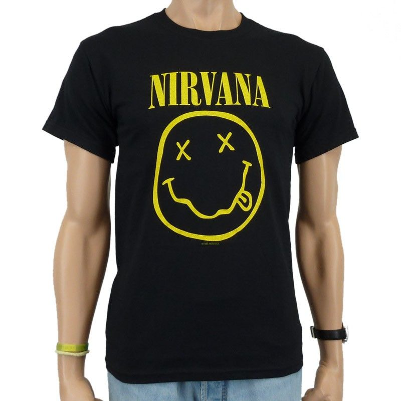 95363637bd86 koszulka NIRVANA - SMILEY  koszulka NIRVANA - SMILEY ...