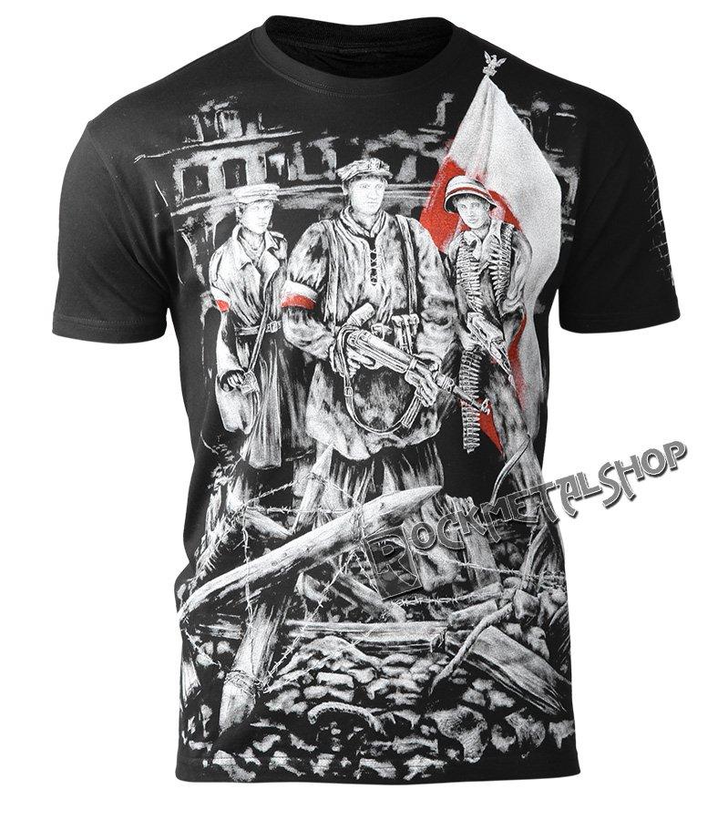 2bc5baf24a0b koszulka POWSTANIE WARSZAWSKIE czarna · koszulka POWSTANIE WARSZAWSKIE  czarna ...
