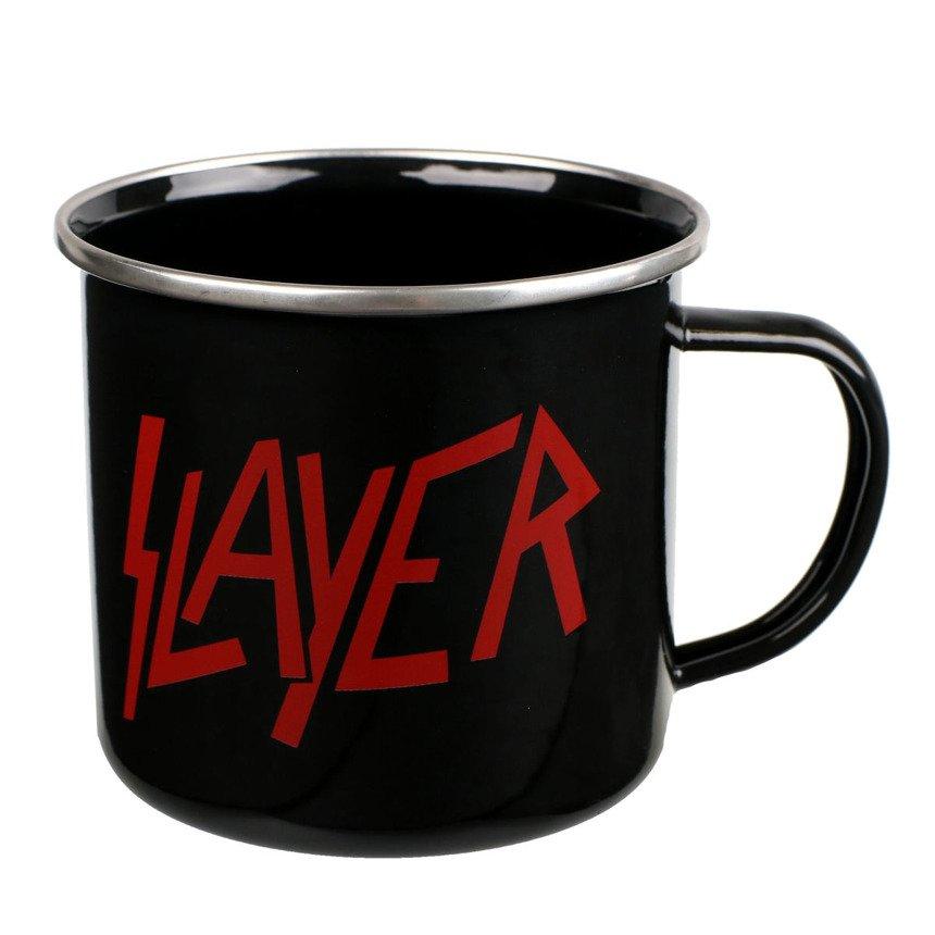 kubek SLAYER LOGO metalowy sklep RockMetalShop.pl