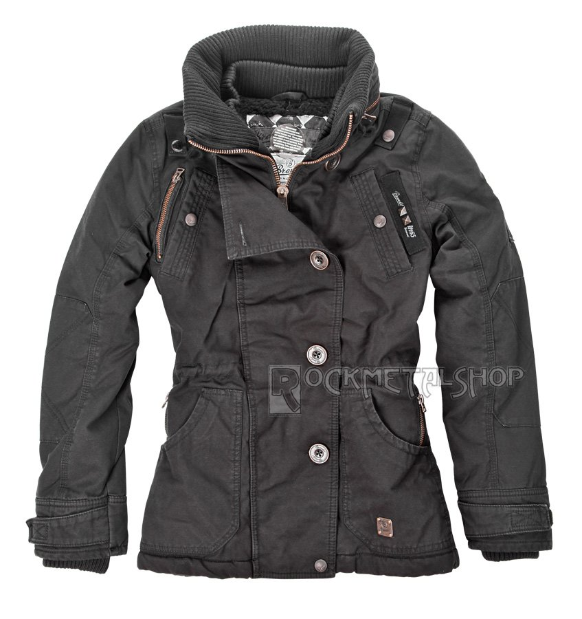 kurtka damska M65 NELLY BLACK, zimowa sklep RockMetalShop.pl