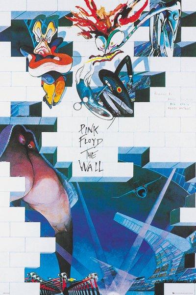 Plakat Pink Floyd The Wall Sklep Rockmetalshoppl