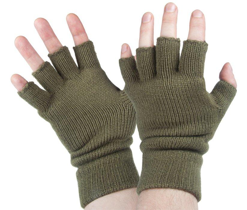 55555d3d27fd2 rękawiczki bez palców THINSULATE OLIVE  rękawiczki bez palców THINSULATE  OLIVE ...