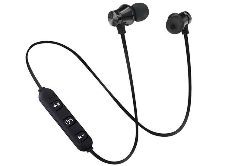 słuchawki bezprzewodowe BLUETOOTH DOUSZNE BLACK 4.0, do