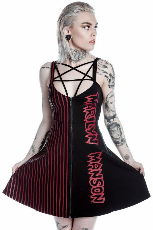 47e515bdc5b018 sukienka KILL STAR - MARILYN MANSON, CRYPTORCHID - sklep ...