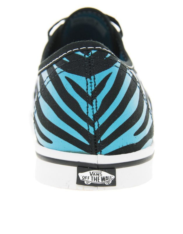 41d39c756d ... trampki damskie VANS - AUTHENTIC LO PRO ZEBRA FADE BLACK SCUBA BLUE ...