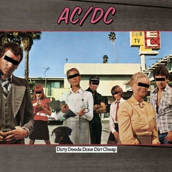 AC/DC : DIRTY DEEDS DONE DIRT CHEEP (LP VINYL)