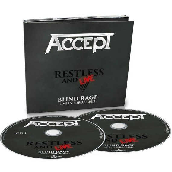 ACCEPT: RESTLESS & LIVE (2CD)