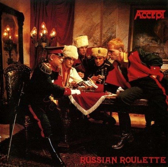 ACCEPT: RUSSIAN ROULETTE (CD)