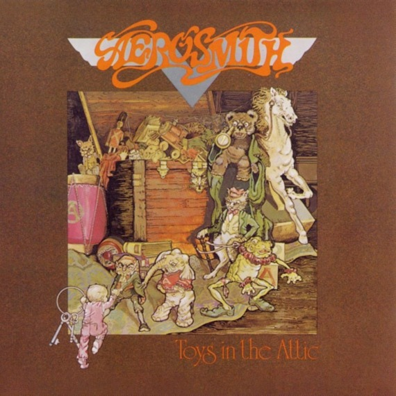 AEROSMITH: TOYS IN THE ATTIC (CD)