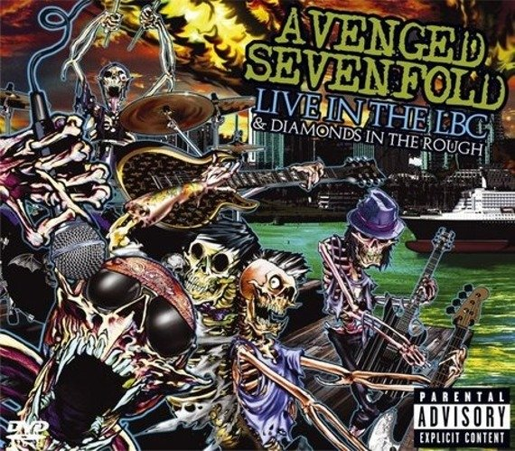 AVENGED SEVENFOLD: LIVE IN THE LBC & DIAMONDS IN THE ROUGH (CD+DVD)
