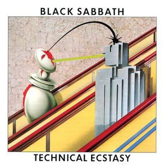 BLACK SABBATH: TECHNICAL ECSTASY (CD) REMASTER