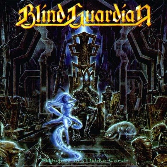 BLIND GUARDIAN:  NIGHTFALL IN MIDDLE EARTH (CD) REMASTERED