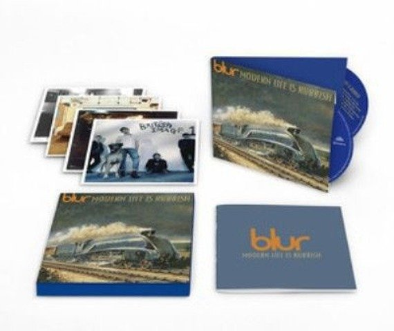 BLUR: MODERN LIFE IS RUBBISH (2CD)