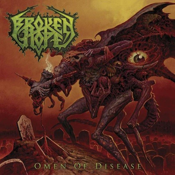 BROKEN HOPE: OMEN OF DISEASE (CD)