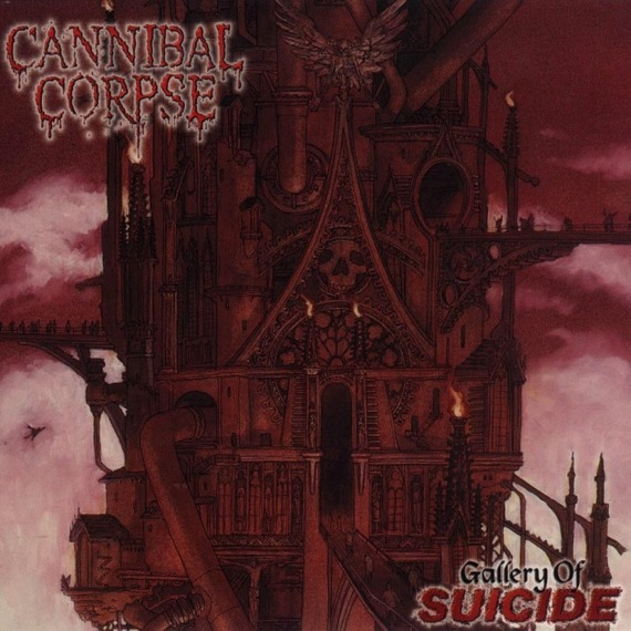 CANNIBAL CORPSE: GALLERY OF SUICIDE (LP VINYL)