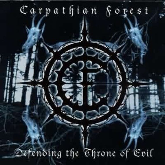 CARPATHIAN FOREST: DEFENDING THE THRONE OF EVIL (2LP VINYL)